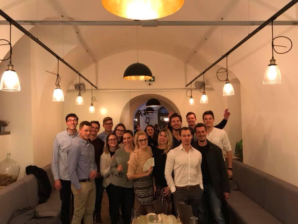 Uvodni sestanev v vinskem baru Šuklje